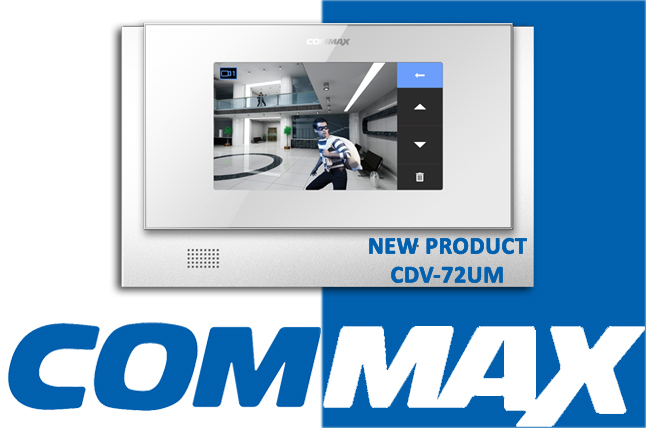 VIDEO DOOR PHONE COMMAX CDV-72UM
